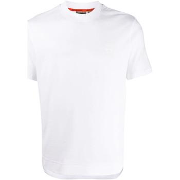 tekstylia Męskie T-shirty z krótkim rękawem Napapijri NP0A4E8F Biały