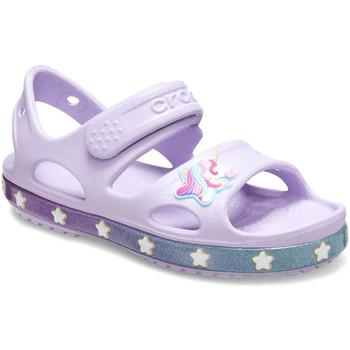 Buty Dziecko Sandały Crocs 206366 Różowy