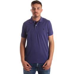 tekstylia Męskie Koszulki polo z krótkim rękawem U.S Polo Assn. 41029 51244 Niebieski