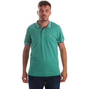 tekstylia Męskie Koszulki polo z krótkim rękawem Navigare NV82077 Zielony