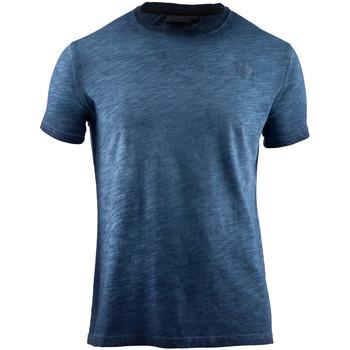 tekstylia Męskie T-shirty z krótkim rękawem Lumberjack CM60343 004 517 Niebieski