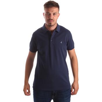 tekstylia Męskie Koszulki polo z krótkim rękawem Navigare NV82097 Niebieski
