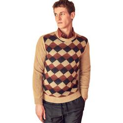 tekstylia Męskie Swetry Antony Morato MMSW00855 YA400113 Beżowy