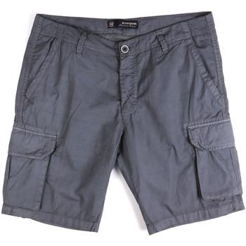 tekstylia Męskie Szorty i Bermudy Key Up 2P16A 0001 Niebieski