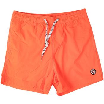 tekstylia Męskie Kostiumy / Szorty kąpielowe Key Up 298XM 0001 Pomarańczowy