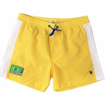 tekstylia Męskie Kostiumy / Szorty kąpielowe U.S Polo Assn. 45282 41393 Żółty
