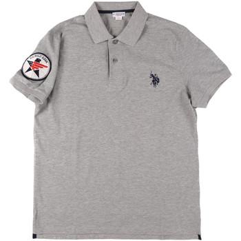 tekstylia Męskie Koszulki polo z krótkim rękawem U.S Polo Assn. 43767 41029 Szary