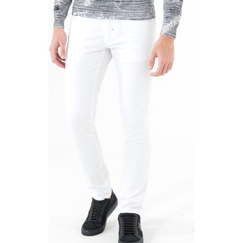tekstylia Męskie Spodnie z pięcioma kieszeniami Antony Morato MMTR00372 FA800060 Biały