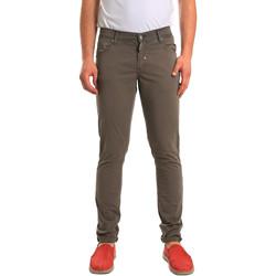 tekstylia Męskie Spodnie z pięcioma kieszeniami Antony Morato MMTR00372 FA800060 Zielony