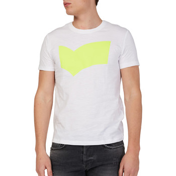 tekstylia Męskie T-shirty z krótkim rękawem Gas 542973 Biały