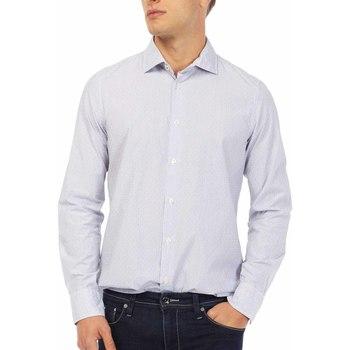 tekstylia Męskie Koszule z długim rękawem Gas 151144 Niebieski