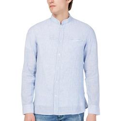 tekstylia Męskie Koszule z długim rękawem Gas 151228 Niebieski