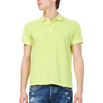 tekstylia Męskie Koszulki polo z krótkim rękawem Gas 310174 Żółty
