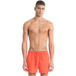 tekstylia Męskie Kostiumy / Szorty kąpielowe Calvin Klein Jeans KM0KM00162 Czerwony