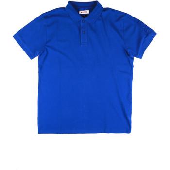 tekstylia Męskie Koszulki polo z krótkim rękawem Invicta 4452172/U Niebieski