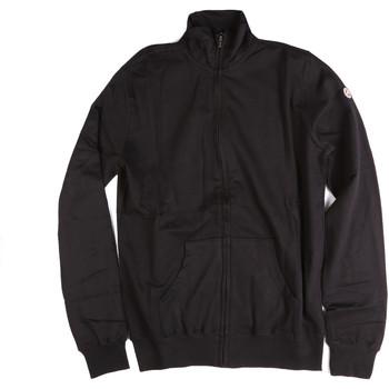 tekstylia Męskie Bluzy Key Up 2F04E 0001 Czarny
