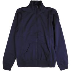 tekstylia Męskie Bluzy Key Up 2F04E 0001 Niebieski