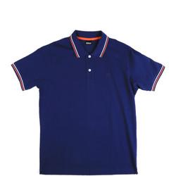 tekstylia Męskie Koszulki polo z krótkim rękawem Key Up 2Q70G 0001 Niebieski