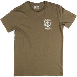 tekstylia Męskie T-shirty z krótkim rękawem Key Up 2G77S 0001 Zielony
