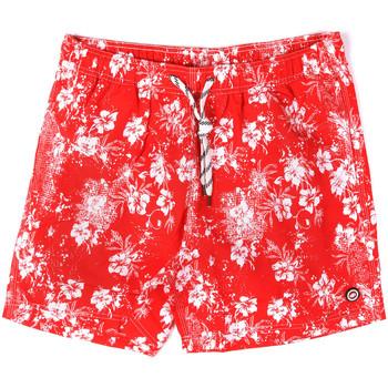 tekstylia Męskie Kostiumy / Szorty kąpielowe Key Up 2M09X 0001 Czerwony