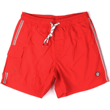 tekstylia Męskie Kostiumy / Szorty kąpielowe Key Up 2H16X 0001 Czerwony