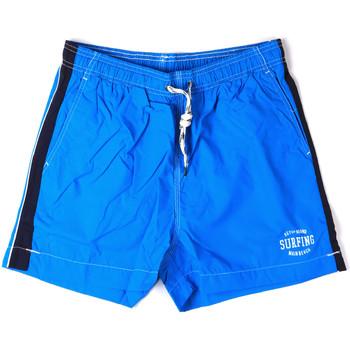 tekstylia Męskie Kostiumy / Szorty kąpielowe Key Up 2H17X 0001 Niebieski