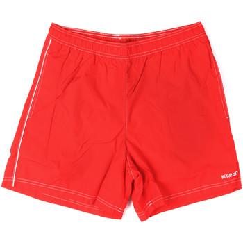 tekstylia Męskie Kostiumy / Szorty kąpielowe Key Up 22X21 0001 Czerwony