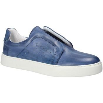 Buty Męskie Tenisówki Exton 511 Niebieski