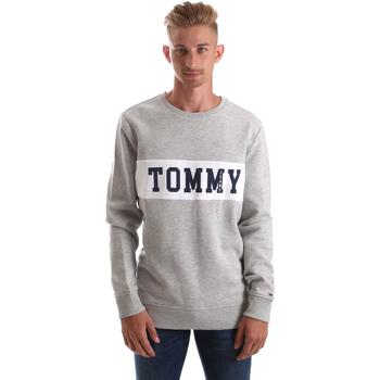 tekstylia Męskie Bluzy Tommy Hilfiger DM0DM05257 Szary