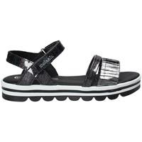 Buty Dziewczynka Sandały Melania ME6087F8E.A Czarny