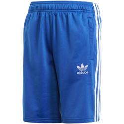 tekstylia Dziecko Szorty i Bermudy adidas Originals CE1079 Niebieski