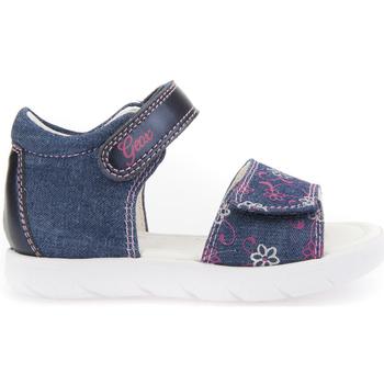 Buty Dziewczynka Sandały Geox B821YB 0SBNF Niebieski