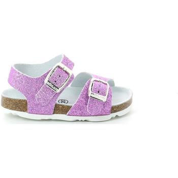 Buty Dziewczynka Sandały Grunland SB1201 Fioletowy
