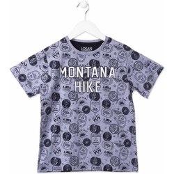 tekstylia Dziecko T-shirty z krótkim rękawem Losan 813-1007AA Niebieski