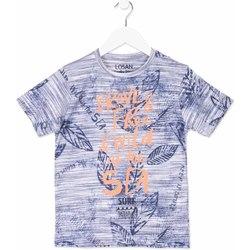 tekstylia Dziecko T-shirty z krótkim rękawem Losan 813-1023AA Niebieski