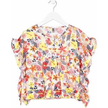 tekstylia Dziewczynka Koszule Losan 814-3003AB Pomarańczowy