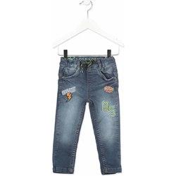 tekstylia Dziecko Jeansy slim fit Losan 815-6019AC Szary