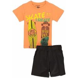 tekstylia Chłopiec Komplet Losan 815-8046AC Pomarańczowy