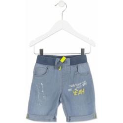tekstylia Chłopiec Szorty i Bermudy Losan 815-9002AC Niebieski