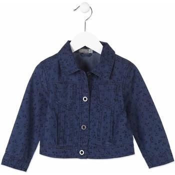 tekstylia Dziecko Kurtki jeansowe Losan 816-2002AD Niebieski