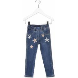 tekstylia Dziecko Jeansy slim fit Losan 816-6013AD Niebieski
