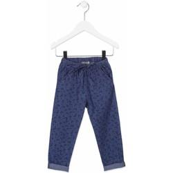 tekstylia Dziecko Chinos Losan 816-9010AD Niebieski