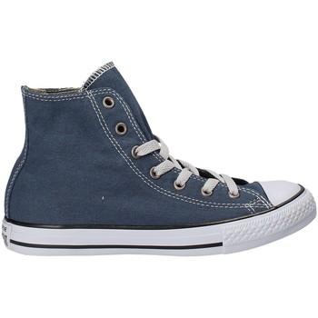 Buty Chłopiec Trampki wysokie Converse 660966C Niebieski