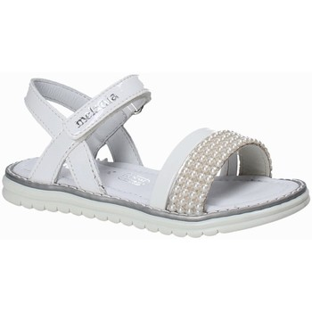 Buty Dziewczynka Sandały Melania ME4094D8E.B Biały
