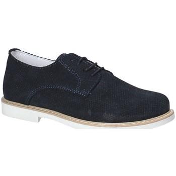 Buty Chłopiec Derby Melania ME6276F8E.A Niebieski