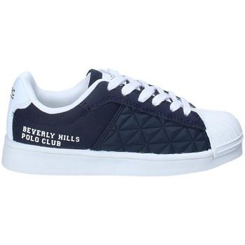 Buty Chłopiec Trampki niskie Beverly Hills Polo Club BH-2023 Niebieski