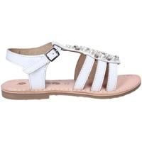 Buty Dziewczynka Sandały Asso 65952 Biały