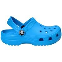 Buty Dziecko Chodaki Crocs 204536 Niebieski