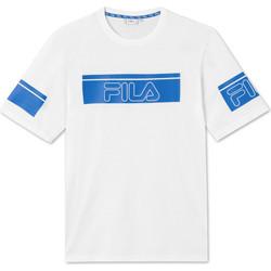 tekstylia Męskie T-shirty z krótkim rękawem Fila 683085 Biały