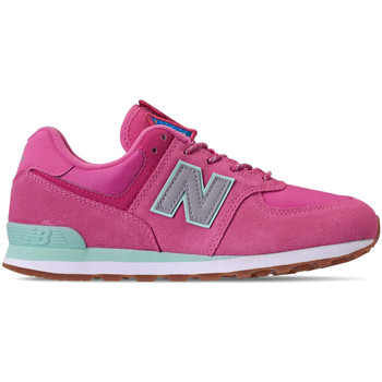 Buty Dziewczynka Trampki niskie New Balance NBGC574PAF Różowy